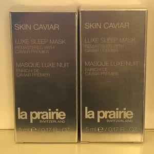 La Prairie Skin Caviar Luxe Sleep Mask - 2 sampler